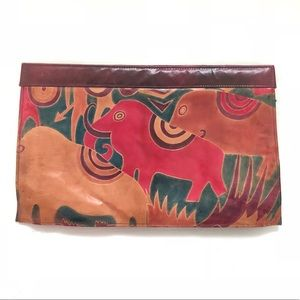 Handbags - Leather Clutch (made in India)